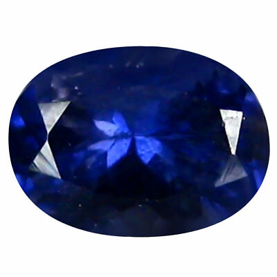 0.74 ct AAA Five-star Oval Shape (7 x 5 mm) Iolite Natural Loose Gemstone