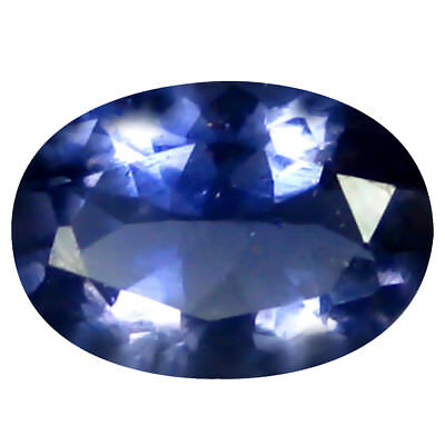 0.67 ct AAA Magnificent Oval Shape (7 x 5 mm) Iolite Natural Loose Gemstone