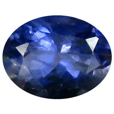 1.10 ct AAA Pretty Oval Shape (8 x 6 mm) Iolite Natural Loose Gemstone
