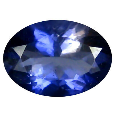 1.29 ct AAA Dazzling Oval Shape (9 x 6 mm) Iolite Natural Loose Gemstone