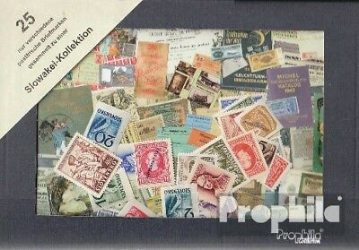 Slovakia 25 different stamps