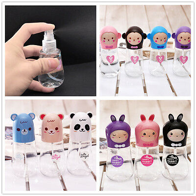 Cute Travel Clear Transparent Perfume Plastic Atomizer Empty Small Spray Bottle