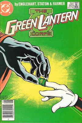 Green Lantern (2nd Series) #203 FN; DC | save on shipping - details inside