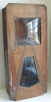 Vintage Wood Wall Clock Case For Spares Repair / Restoration