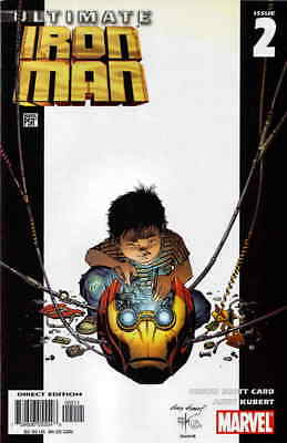Ultimate Iron Man #2 VF/NM; Marvel | save on shipping - details inside