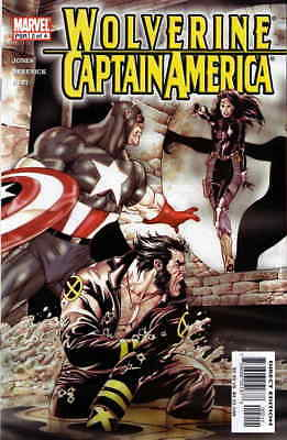 Wolverine/Captain America #2 VF/NM; Marvel | save on shipping - details inside