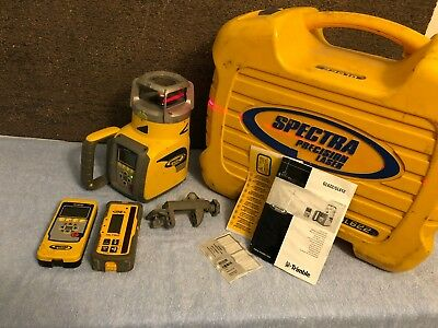 Spectra Precision GL622  Dual Grade Laser w/ HL750 Receiver and RC602 Remote