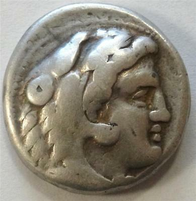 Alexander The Great SILVER Tetradrachm 336-323 BC w/ COA Forvm