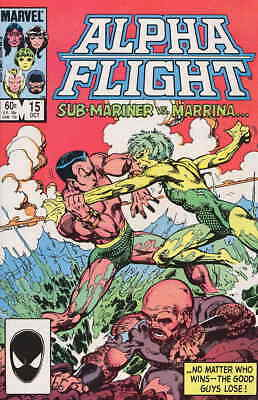 Alpha Flight (1st Series) #15 VF/NM; Marvel | save on shipping - details inside