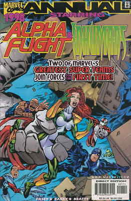 Alpha Flight (2nd Series) Annual #1998 VF; Marvel | save on shipping - details i