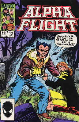 Alpha Flight (1st Series) #13 VF/NM; Marvel | save on shipping - details inside