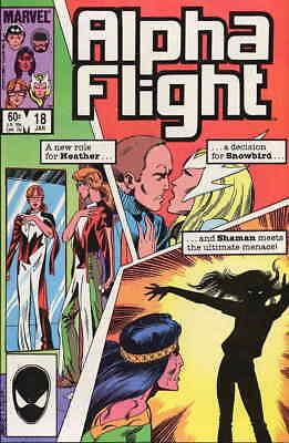 Alpha Flight (1st Series) #18 VF/NM; Marvel | save on shipping - details inside