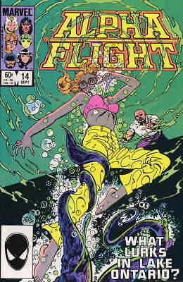 Alpha Flight (1st Series) #14 VF/NM; Marvel | save on shipping - details inside