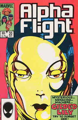 Alpha Flight (1st Series) #20 VF/NM; Marvel | save on shipping - details inside
