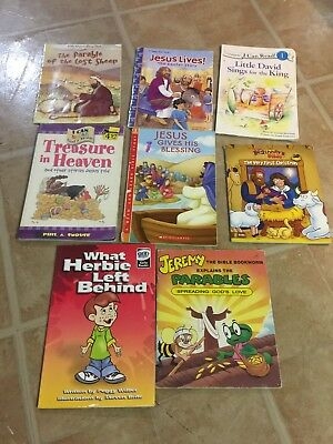 11 Religious Early Readers in 8 books, Levels 1-3, Early Readers Zondervan, Smou
