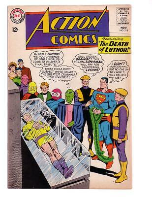 Action Comics #318 1964-Superman-Death Of Luthor!!! Fn/vf