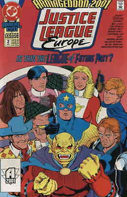 Justice League Europe #Annual 2 VG; DC   low grade comic - save on shipping - de
