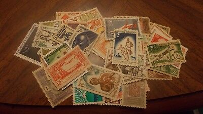 DAHOMEY  -  Collection of 100 DIFFERENT Mint & Used Stamps .......