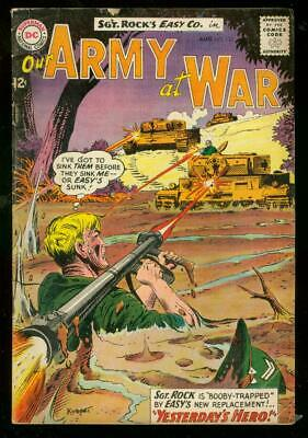 Our Army At War #133 1963-Dc Comics-Bazooka-Sgt Rock Vg