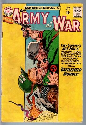 OUR ARMY AT WAR #135-1963-SGT. ROCK-D.C. WAR SILVER AGE-VG plus VG+