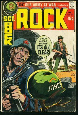 Our Army At War #226-Sgt. Rock-Dc-Wwii G/vg