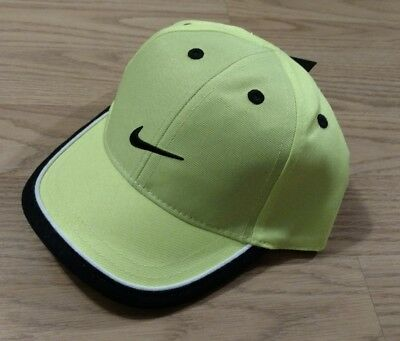 41162085f14 NIKE Baseball Cap Hat INFANT 12-24 Months Toddler Boys Girl Green Swoosh NEW