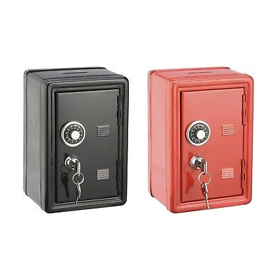1X Kids Coin Locker Bank Safe with Combination Lock and Key