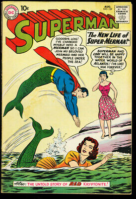 Superman #139-Mermaid Cover-Lori Lemaris Appears G/vg