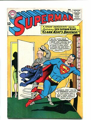 Superman 175-1965-February-Lex Luther Kent Cover Fn