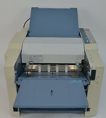 Duplo DF-915 Automatic Tabletop High-Speed Paper Folder 280 SPM 500 Sheet Max
