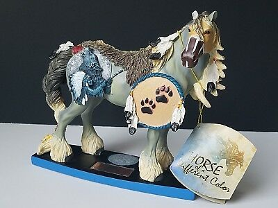Horse Of A Different Color Wolf Spirit Clydesdale 20332 Westland Tag