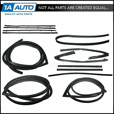 Complete Weatherstrip Seals Kit Set for 71-72 Chevy GMC C/K Pickup Truck