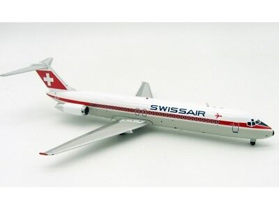 Swissair DC-9-41 (HB-IDY), 1:200, Inflight! Airmail Exclusive Model! SELTEN!
