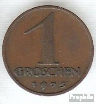 Austria km-number. : 2836 1927 extremely fine Bronze extremely fine 1927 1 Penny