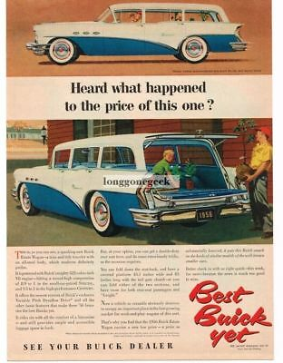 1956 Buick Model 49 Special Estate Wagon by Ship Ref. # 28504 Factory Photo