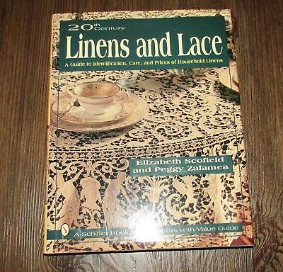20th Century Linen & Lace Price Guide & Identification Book