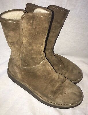 3c2a636c738 UGG AUSTRALIA ABREE Lux Collection Size 8 Made In Italy
