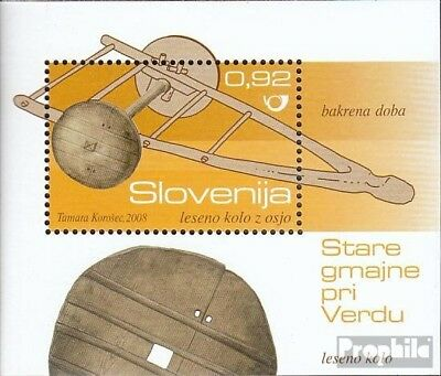slovenia Block40 mint never hinged mnh 2008 Archaeological Finds