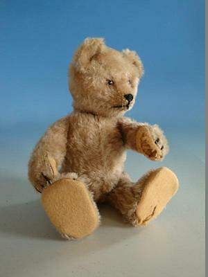 0414A1-266: Alter Teddy Baby mit yes no Mechanik