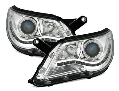 CCFL ANGEL EYES SCHEINWERFER SET für VW TIGUAN mit LED TFL OPTIK von EAGLE EYES