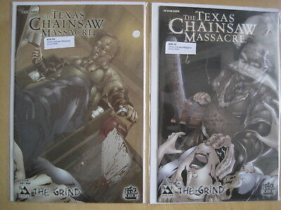 The TEXAS CHAINSAW MASSACRE,the GRIND : 2 & 3 of 3 ISSUE 2006 GORY AVATAR SERIES