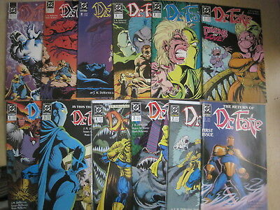 DOCTOR DR FATE :COMPLETE RUN issues 1- 12 of 1988 DC series by DeMATTEIS,McMANUS