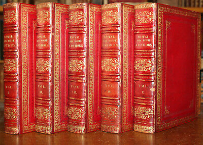 1806 A Catalogue of Royal Noble Authors QUARTO Large Paper Double Illustrated