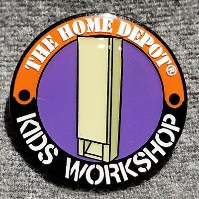 LMH PINBACK Pin HOME DEPOT Kids Workshop PERISCOPE Spy Box 1""