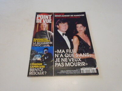 Point De Vue N° 2963 Margrethe Biographie Choc - Ernst -August& Caroline De 2005