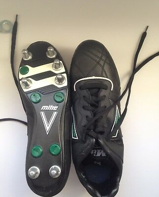 Mitre Samoan Low Rugby Shoes Leathers Uppers size 11