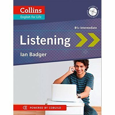 Collins English for Life: Listening B1+ (Collins Genera - Paperback NEW Badger,