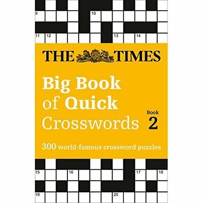 The Times Big Book of Quick Crosswords Book 2 (Times Mi - Paperback NEW The Time