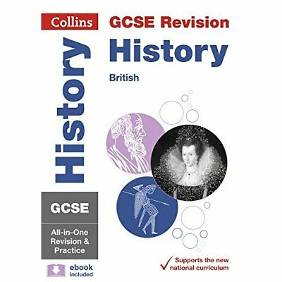 GCSE History - British All-in-One Revision and Practice - Paperback NEW Collins