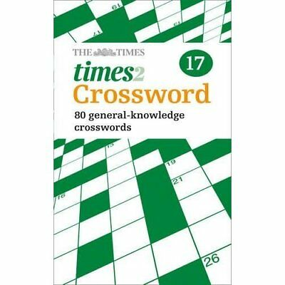 The Times 2 Crossword Book 17 - Paperback NEW Grimshaw, John 2013-03-14
